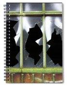 Glass Spiral Notebook