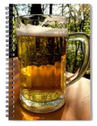 Glass Of Beer Spiral Notebook