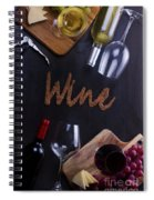 Winery Spiral Notebook