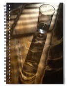 Glass Shadow Spiral Notebook