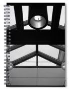 Glass Sky Lights Spiral Notebook