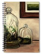 Glass Terrariums Spiral Notebook