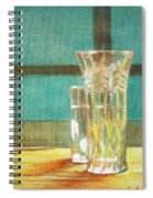 Glass Vase - Still Life Spiral Notebook