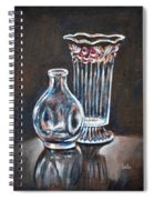 Glass Vases-still Life Spiral Notebook
