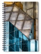 Glassed Spiral Notebook