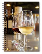 Glasses Of  Port Wine Spiral Notebook