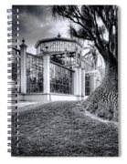Glasshouse And Tree Spiral Notebook