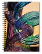 Glassworks 2 Spiral Notebook