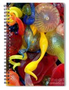 Glassworks Of The Milwaukee Art Museum Spiral Notebook