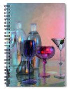 Glassy Still Life Spiral Notebook