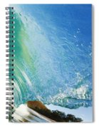 Glassy Wave Tube Spiral Notebook