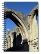 Glastonbur Abbey 2 Spiral Notebook