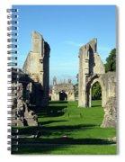 Glastonbury Abbey 1 Spiral Notebook
