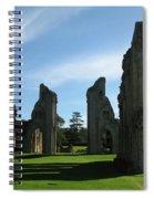 Glastonbury Abbey 3 Spiral Notebook