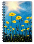Gleaming Spiral Notebook