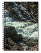 Glen Alpine Falls 9 Spiral Notebook