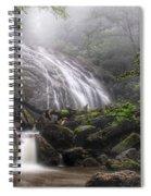 Glen Burney Falls Spiral Notebook