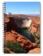 Glen Canyon Dam - Arizona Spiral Notebook