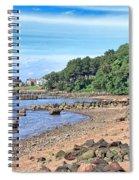 Glen Cove Rocky Beach Spiral Notebook