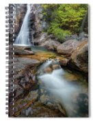 Glen Ellis Falls Autumn Spiral Notebook