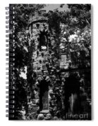 Glen Island Castle  Spiral Notebook