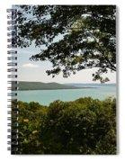 Glen Lake Overlook Spiral Notebook