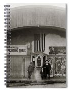 Glen Lyon Pa. Family Theatre Early 1900s Spiral Notebook
