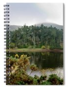 Glencorse Island And Sadness. Spiral Notebook
