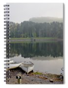 Glencorse Reflection. Spiral Notebook