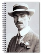 Glenn Curtiss - Aviation Pioneer And Father Of Aircraft Industry - 1909 Spiral Notebook