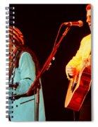 Glenn Frey Joe Walsh-1029 Spiral Notebook