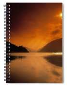 Glenveagh Castle And Lough Veagh Spiral Notebook