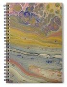 Glide Across The Galaxy 2 Spiral Notebook