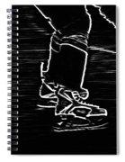 Gliding Spiral Notebook
