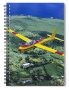 Gliding Over Hana Spiral Notebook
