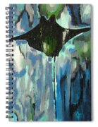 Gliding Stingray Spiral Notebook