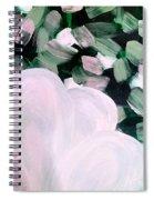 Glimmering Petals Spiral Notebook