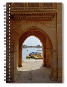 Glimpse Of Gadisar Lake Spiral Notebook