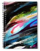 Glimpse Pink Fish Spiral Notebook