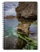 Glimpses Of Sicily Spiral Notebook