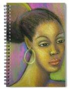 Glisten Spiral Notebook