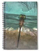 Glistening In The Forest Spiral Notebook