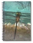 Glistening In The Forest Spiral Notebook