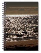 Glistening On The Water Spiral Notebook