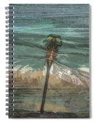 Glistening On Wood Spiral Notebook