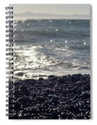 Glistening Rocks And The Ocean Spiral Notebook