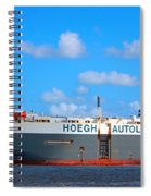 Global Carrier Spiral Notebook