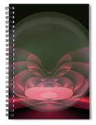 Globe Love Spiral Notebook