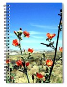 Globe Mallows Spiral Notebook