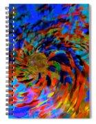 Globe Nebula Spiral Notebook